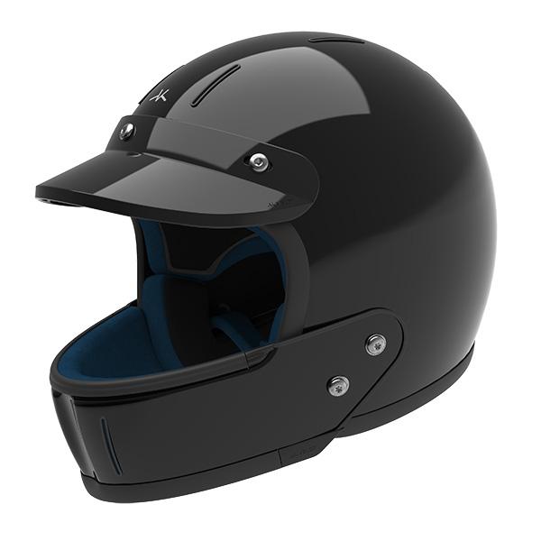 Glossy Black - enduro
