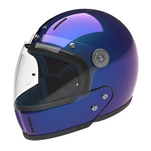 Iridescent Blue - Fullface