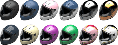 luxury motorcycle helmet, VELDT