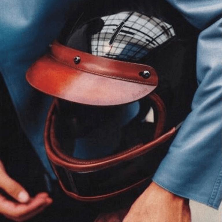 casque moto veldt berluti, Berluti
